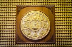 Hundert Buddha-Statue Lizenzfreies Stockbild