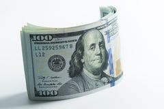 Hundert Dollar Stockfotografie
