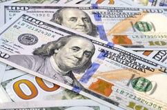 Hundert Dollar Lizenzfreies Stockbild