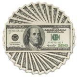 Hundert Dollar Lizenzfreie Stockfotografie