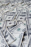 Hundert Dollar Anmerkungshintergrund Lizenzfreies Stockbild