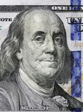 Hundert Dollar Benjamin Franklin-Porträt Lizenzfreie Stockfotografie