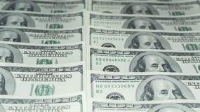 Hundert Dollar Geld- Lizenzfreie Stockbilder