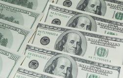 Hundert Dollar Geld- Lizenzfreie Stockfotografie