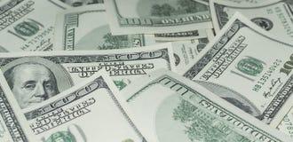 Hundert Dollar Geld- Lizenzfreies Stockfoto