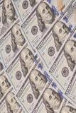 Hundert Dollar Stapel Stockbild