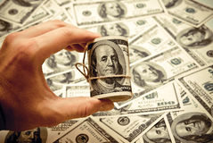 Hundert Dollar US Lizenzfreie Stockfotos