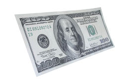 Hundert Dollaranmerkung #5 lizenzfreie stockbilder