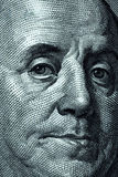 Hundert Dollarbanknoten Lizenzfreies Stockfoto