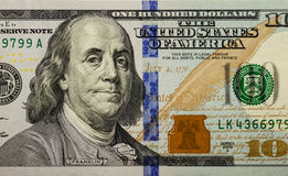 Hundert Dollarschein 004 Lizenzfreie Stockbilder