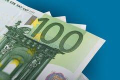 Hundert Euro Banknots Stockfoto