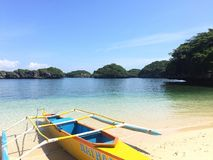 Hundert Inseln Philippinen Lizenzfreies Stockfoto