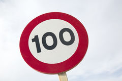 Hundert Miles Per Hour Lizenzfreie Stockbilder
