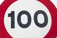 Hundert Miles Per Hour Stockbild
