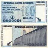 Hundert Milliarde Dollar Lizenzfreie Stockbilder