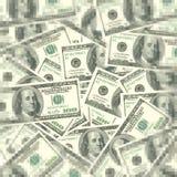 Hundert Rechnungs-Bargeld Stockfotos