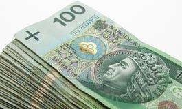 Hunderte Zloty Lizenzfreie Stockbilder