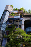 Hundertwasser apartment House Stock Image