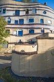 Hundertwasser Building Stock Image
