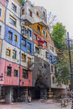 Hundertwasser dom - Wiedeń Obrazy Stock