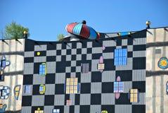 Hundertwasser Fernheizunganlage in Wien Lizenzfreie Stockfotos