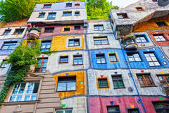 Hundertwasser Haus Fotos de archivo