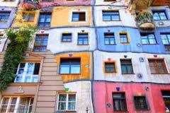 Hundertwasser Haus Royalty Free Stock Image
