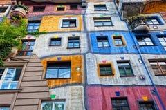 Hundertwasser Haus Royalty Free Stock Photos