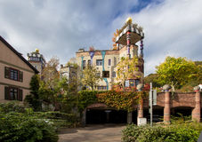 Hundertwasser-Haus, schlechtes Soden, Deutschland Stockfotografie