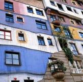 Hundertwasser Haus in Vienna,Austria Royalty Free Stock Image