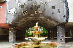 Hundertwasser Haus, Vienna Austria Stock Images