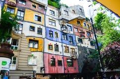 Hundertwasser Haus - Vienna Royalty Free Stock Images