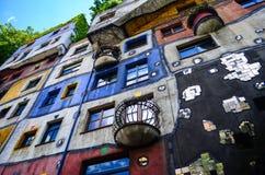 Hundertwasser Haus - Vienna Stock Photo