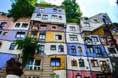 Hundertwasser Haus - Vienna Royalty Free Stock Photo