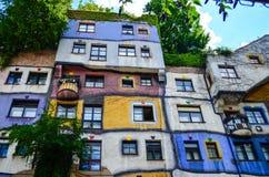 Hundertwasser Haus - Vienna Stock Images