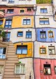 Hundertwasser haus- Wien Lizenzfreies Stockbild