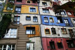 Hundertwasser House Stock Photography