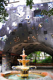 Hundertwasser house Stock Photography