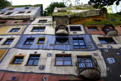 Hundertwasser House Stock Images
