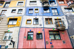 The Hundertwasser House Stock Image