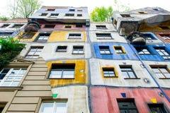 The Hundertwasser House Stock Photos