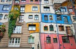 Hundertwasser House. Stock Image