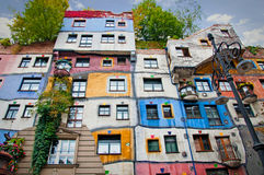Hundertwasser House. Royalty Free Stock Image