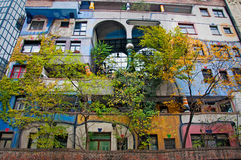 Hundertwasser House. Stock Photography