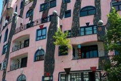 Hundertwasser House Royalty Free Stock Photo