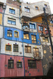 The Hundertwasser House Royalty Free Stock Photos
