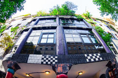 The Hundertwasser House in Vienna Stock Photo