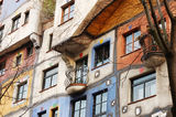 Hundertwasser House, Vienna, Austria Stock Photo