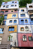 Hundertwasser House in Vienna, Austria Royalty Free Stock Photography