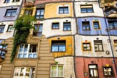 Hundertwasser House Stock Photo